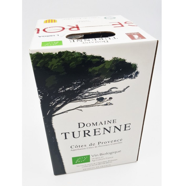 Côtes De Provence Rouge Bib 5 L - Domaine Turenne