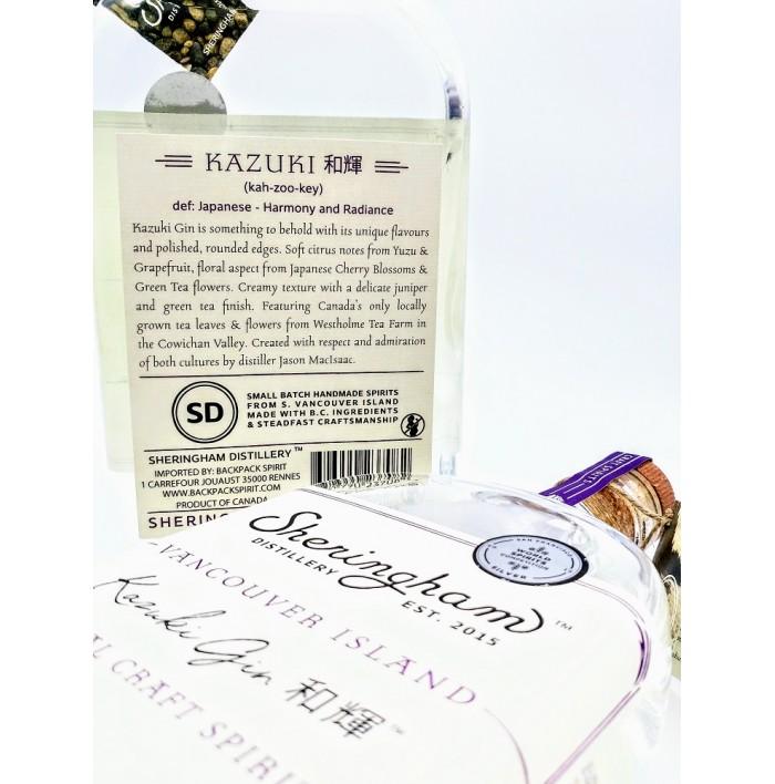 Gin Kazuki - Distillerie Sheringham