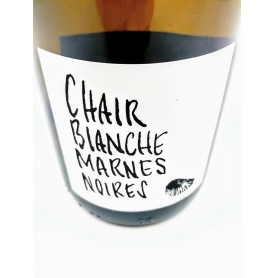 Chair Blanche Marnes Noires
