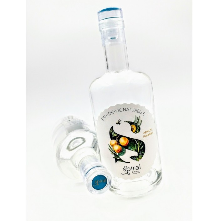 Abricot Romarin Eau De Vie Naturelle - Distillerie Spiral