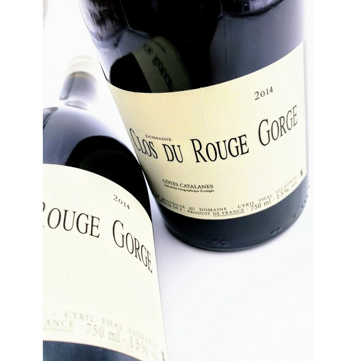 Côtes Catalanes Rouge - Clos Du Rouge Gorge