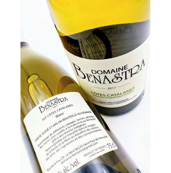 Côtes Catalanes Blanc - Domaine Benastra